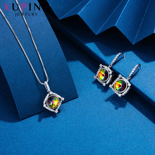 Xuping Fashion Jewelry Set for Ladies Crystals from Swarovski Special Popular Simple Modern Elegance Party Gifts S174.6-601(China)