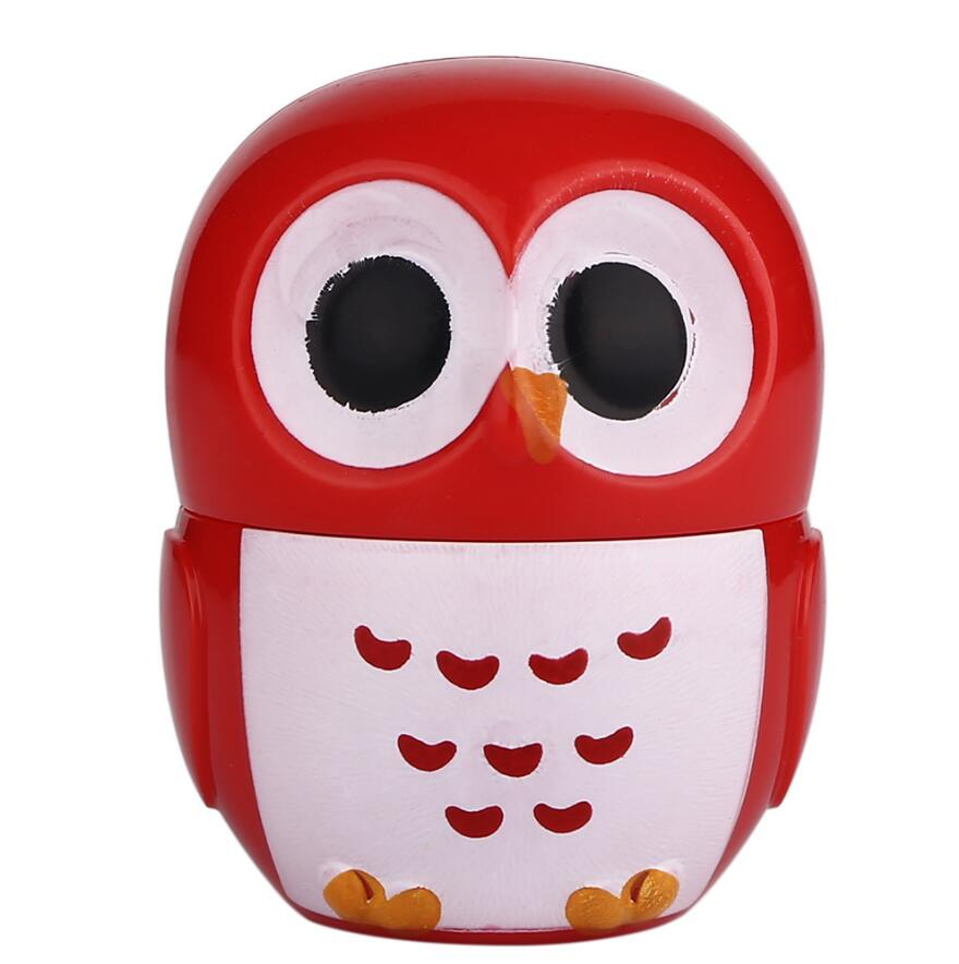 1 Pc Candy Color Owl Moisturizing Lip Balm Natural Plant Sphere Lip Gloss healthy Fruit Embellish Lipstick Makeup Tool in Lip Balm from Beauty Health