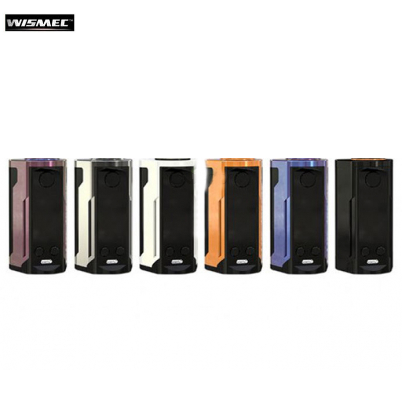 Wismec Reuleaux RX GEN3 Double Mod Boîte Mod Vaporisateur 230 w Soutien GNOME Roi Atomiseur RTA RDTA RDA Réservoir E cigarette Mod Vengeur