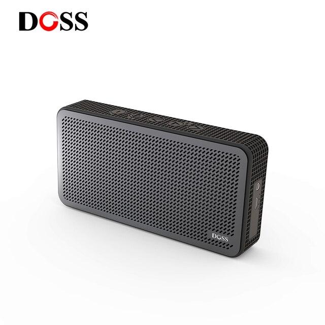 WB20 DOSS Speaker Portátil Bluetooth Alto-falantes Sem Fio Ao Ar Livre 3.7 V 1000 mAH Construir-in Mic Para O telefone PC computador
