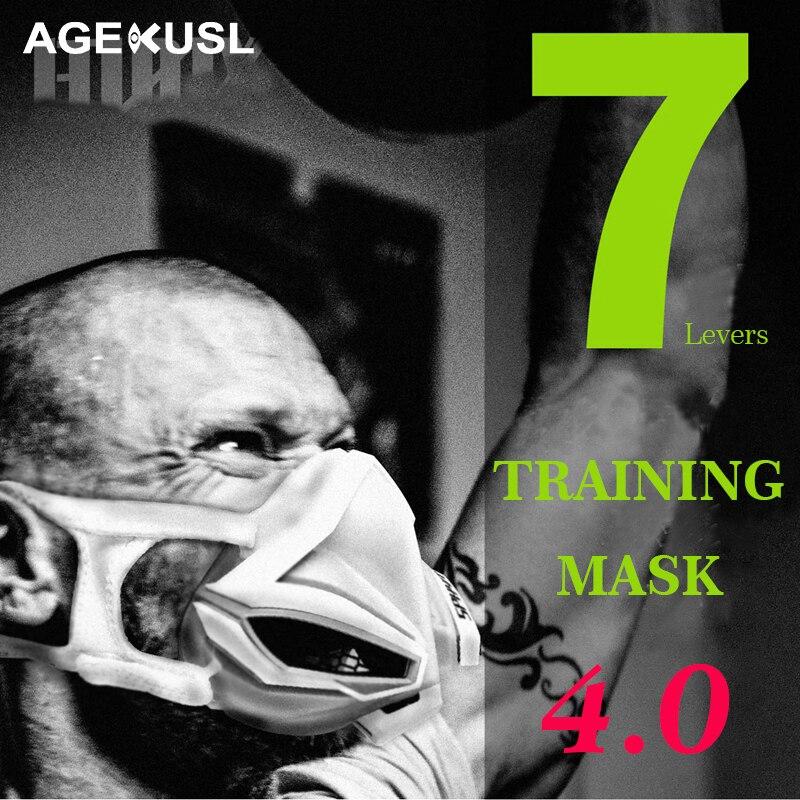 Masque de cyclisme TWTOPSE masque de sport d'entraînement 4.0 Fitness entraînement Gym exercice de course vélo masque de vélo élévation masque Cardio