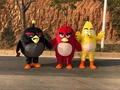 New Anger Ongoing red bird Mascot costume Free shipping Costume Mascot