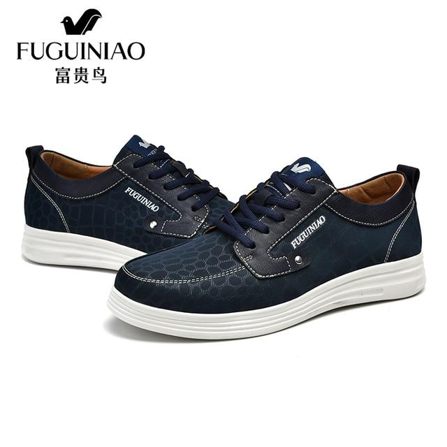c873955b37 Moda Casual Homens Sapatos Masculinos Respirável Rendas Tecido Oxford  Sapato Masculino Platfroms Top Lazer Zapatos Hombre