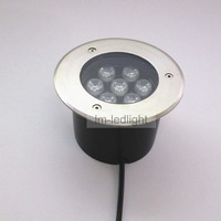led lamp floor 7W 85~265V IP67 waterproof decklight led Bridgelux 45mil pink blue white outdoor floor led