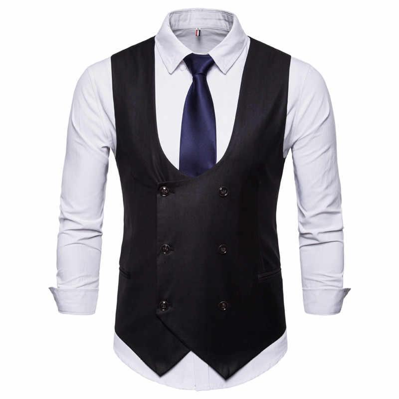 Riinr hombres clásico fiesta boda Paisley Plaid chaleco bolsillo cuadrado corbata conjunto bolsillo cuadrado conjunto primavera otoño
