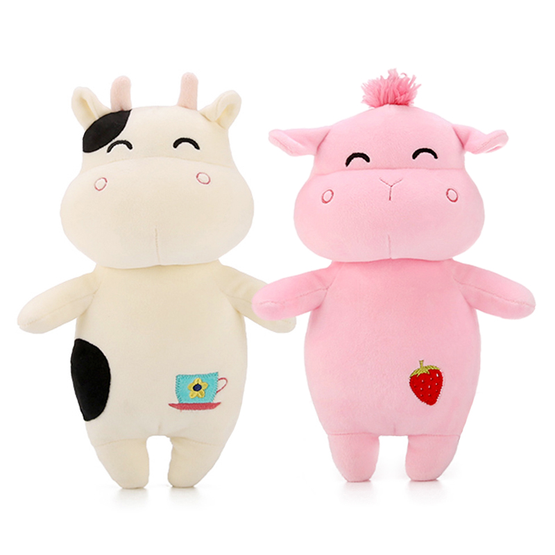 Kawaii plush toys stuffed sleeping pillow Cow/sheep/frog/hippo kids toy for cute soft baby toys 2018 huge giant plush bed kawaii bear pillow stuffed monkey frog toys frog peluche gigante peluches de animales gigantes 50t0424