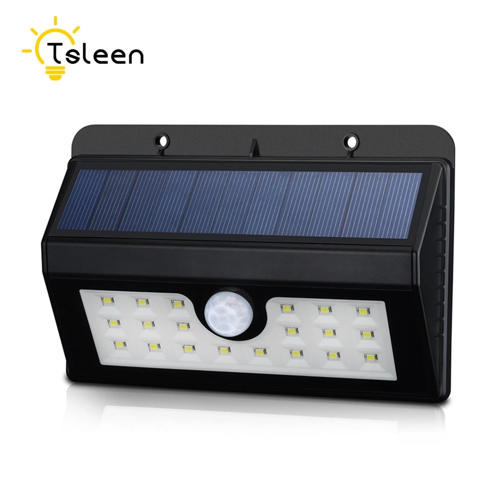 TSLEEN 20 LED אור השמש בחוץ אור חצר באנרגיה - תאורה חיצונית