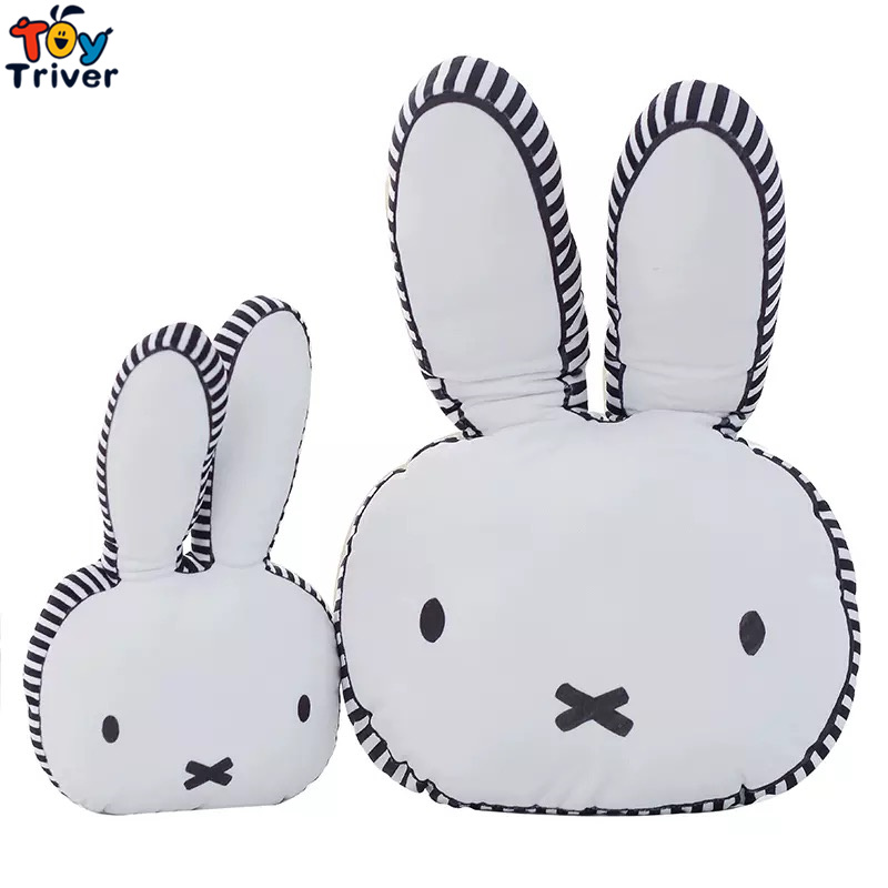 60cm INS Animal Bunny Pillow Baby Girls Kid Rabbit Cushion Pillow Home Children's Room Decoration Birthday Christmas Gift Triver ins hot cute rabbit lighting rabbit child room decoration lamp korean style baby accompany night light free shipping