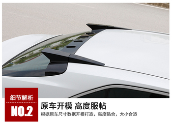 car For Toyota Camry Spoiler High Quality ABS Material Car Rear Wing Primer Color Rear Spoiler For Toyota Camry Spoiler 2018+