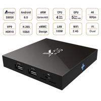 H96 TV Box Amlogic S905X Android 6 0 Set Top Boxes Quad Core 2 4GHz WiFi