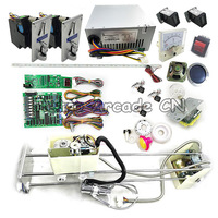 Arcade Toy Crane Game Machine DIY kit with 71cm gantry, claw, motherboard, coin acceptor, button, power supply, LED joystick