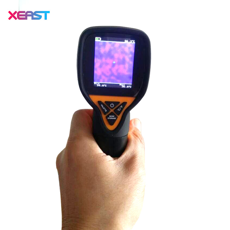 HT 175 digital thermal imaging camera IR infrared thermometer 20 300 degree 32X32