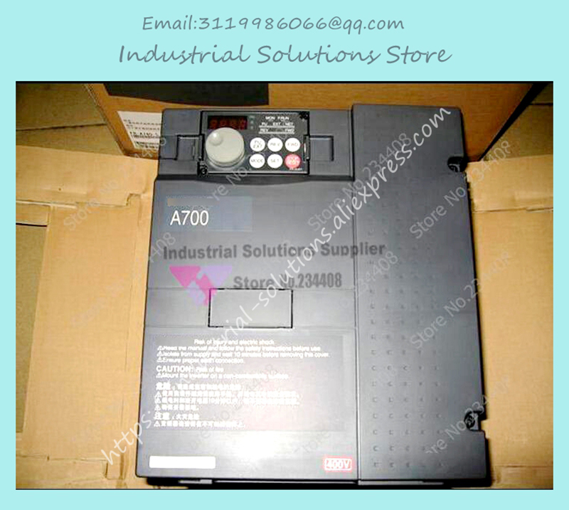 Input 3 ph 380V Output 3 ph Inverter FR-A740-5.5K-CHT 380~480V 12A 5.5KW 0.2~400Hz New new original inverter fr a740 15k c9