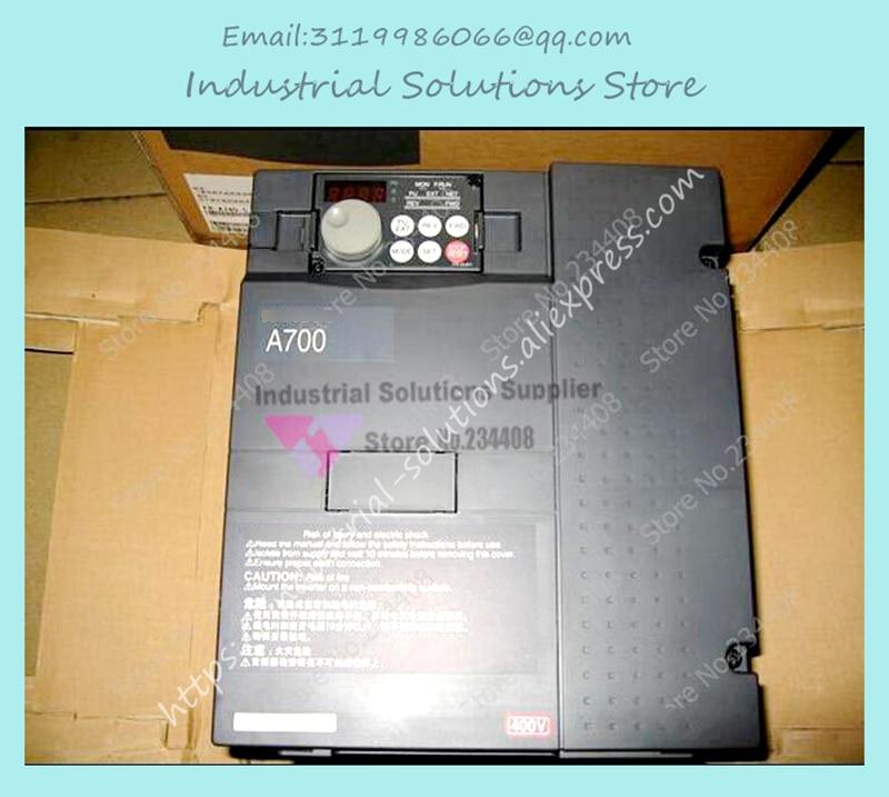 Input 3 ph 380V Output 3 ph Inverter FR-A740-5.5K-CHT 380~480V 12A 5.5KW 0.2~400Hz New new original inverter 30400v fr e720s 2 2 k cht