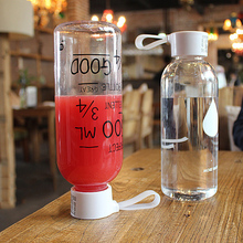 Keythemelife 1PCS Portable Plastic Water Bottles Outdoor Space Water Bottles