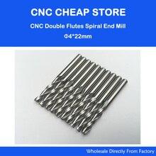 Brocas de enrutador CNC de 4x22mm