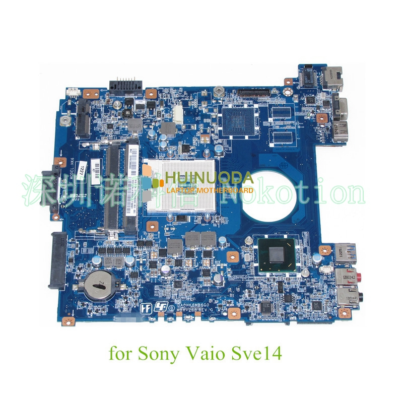 A1876091A DA0HK6MB6G0 MBX-268 For Sony SVE14118FXW SVE14 SVE141L11T SVE141D11L Motherboard Main Board S989 HM76 HD Graphics ddr3