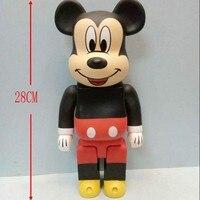 Hot Sale Disney Toys High Quality PVC Mickey Action Figures 28 Cm Cute Cartoon Anime Dolls