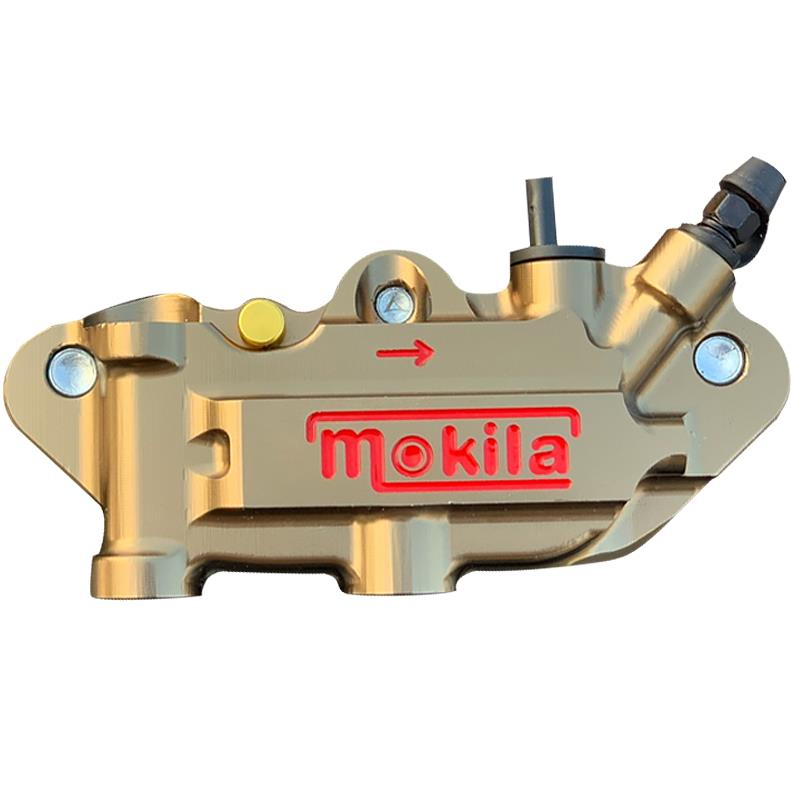 New electric motorcycle modified CNC aluminum alloy bronze calipers brake down pump for For Honda Yamaha Kawasaki Suzuki in Brake Shoe Sets from Automobiles Motorcycles