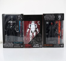 Free Shipping Star Wars Revoltech #01 darth Vader #02 darth Mual Stormtrooper PVC Action Figures Collectible Model Toy