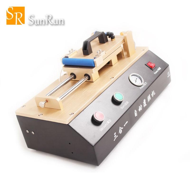 цена на 3 in 1 Automatic OCA Film Laminating Machine Built-in Vacuum Pump and Air Compressor For iPhone Samsung LCD Screen Repair