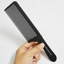 Peigne de coupe Fine peigne de Salon de coiffure noir avec peigne de coiffure Pro barbier