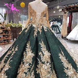 Image 5 - AIJINGYU Wedding Dresses Dubai Sleeve Gowns Bolero Luxury Ivory Long Boho Lace For Sale Sexy Gown engagement Wedding Decorations