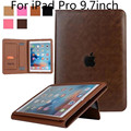 Case for iPad Pro 9.7 , High quality luxury leather with soft touch Ultra Thin Smart Stand Case Cover for iPad Pro 9.7 inch