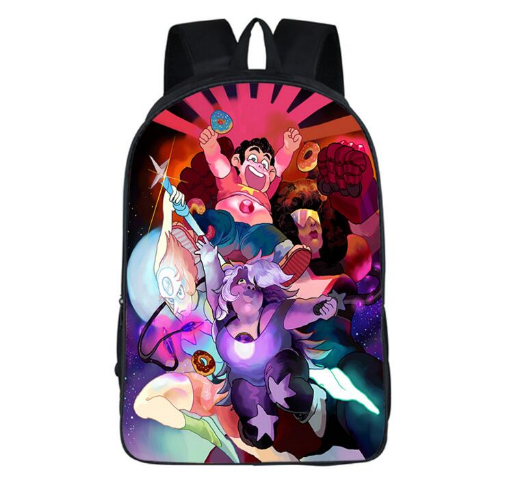a6911a875e 16 Inch Steven Universe Cartoon Shoulder Bag Students School Bag  2069 Kids  Backpack Travel Bag For Teenagers Boys Girls-in Backpacks from Luggage    Bags on ...