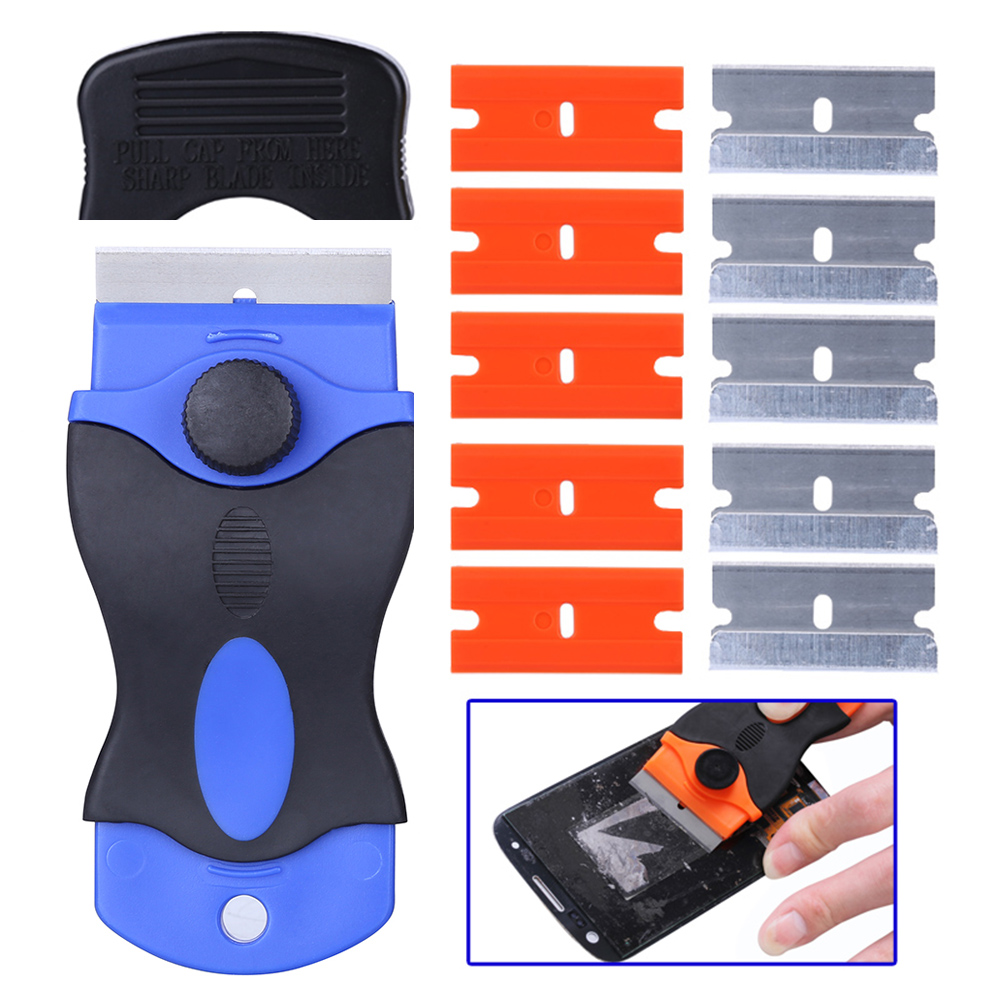 LOCA UV Glue Remover Scraper Knife For IPhone Samsung Huawei Smartphone LCD Screen Residue Adhesive Cleaning Repair Tools Outils