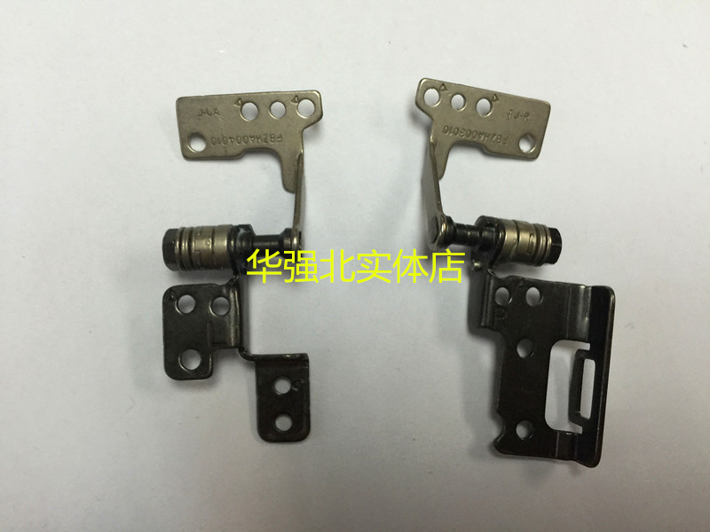 New LCD Hinges For ACER Aspire V5-121 V5-123 One 725 Notebook LCD Screen Display Left & Right Hinges Steel Brackets Set