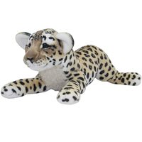large 60cm simulation prone lion, leopard , tiger doll soft plush toy ,home decoration toy birthday gift h2905