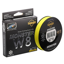 Quality Monster W8 Super Strong 300M 8 Strands Weaves PE Braided Fishing Line 20LB 30LB 40LB