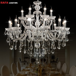 Image 1 - Moderna luz do candelabro de cristal moderna iluminação luzes de cristal casa interior luminária sala lustres lustre de cristal