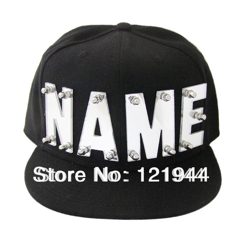 Letras espelho acrílico chapéu 10d995233e5