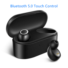 D015 TWS Bluetooth 5.0 Earphone Touch Control Earbuds Portable Waterproof Wireless Earphones Stereo Hifi Sport Headset 5 0 bluetooth mini 3d stereo sound ouch control hifi earphone with mic sport ipx7 waterproof tws wireless earbuds stereo headset