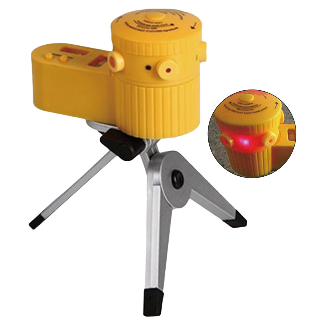 Plastic Multifunction Cross Laser Level Leveler Vertical Horizontal Line Tool With Tripod Equipment Measuring Tools Instrument