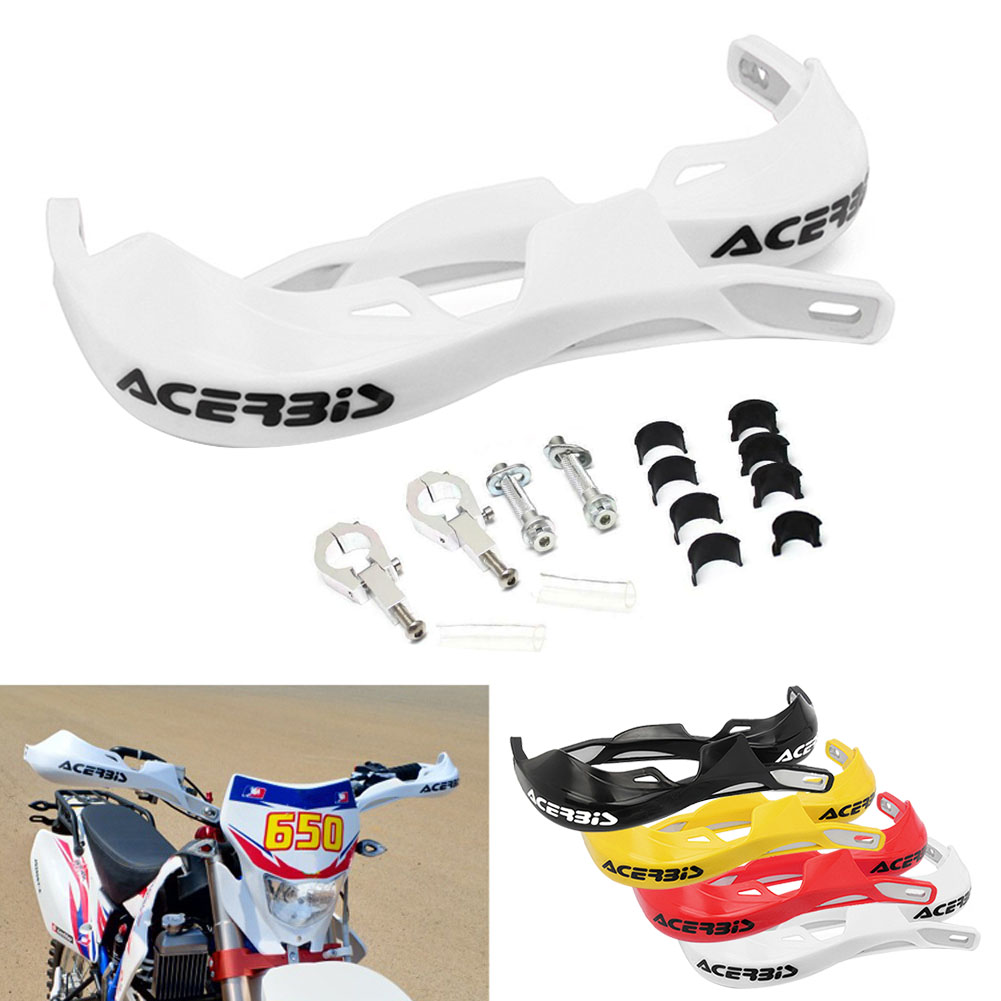 Image 2 - 1 Pair Motorcycle 22mm 28mm Handlebar Hand Guards Handguard Protector Motocross Dirt Pit Bike Off Road-in Falling Protection from Automobiles & Motorcycles