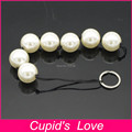 Anal Beads Butt Plug Dia2.5cm Booty Beads Sex Toys For Men & Women,Pull Beads Pearl Anal Plug Adult Games Products