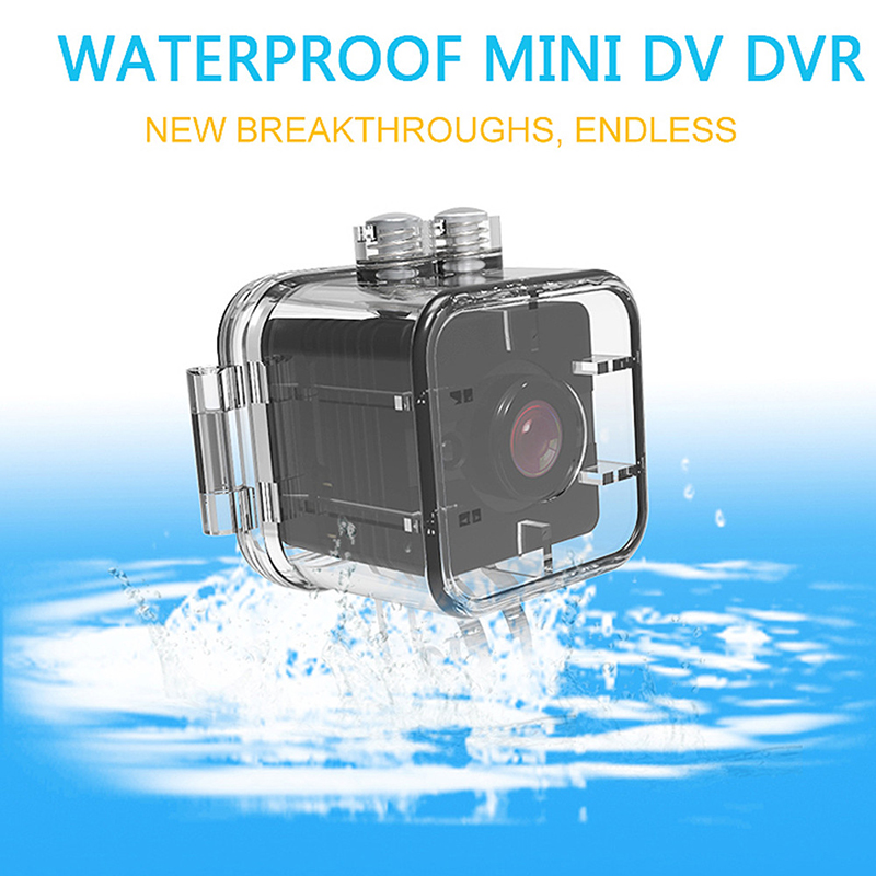 FULL-Waterproof Mini Camera SQ12 HD Sport Action Camera Night Vision Camcorder 1080P DV Video Recorder Infrared Car DVR Camera