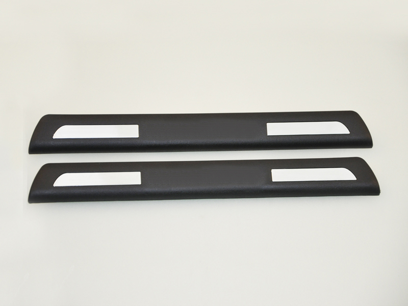2Pcs Car Scuff Plate Set Trims Door Sill Fits For VOLVO S60 2011 2012 2013 2014 2015 2016 New [QP358]