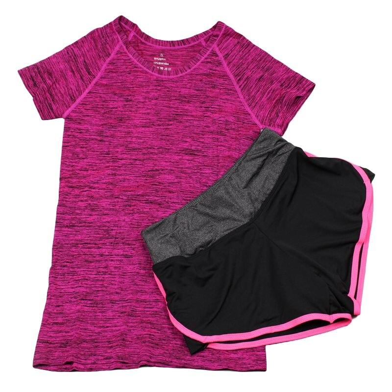 Womens Sports Bras Running Yoga Pants Dance Gym Tank Tops: Women Quick Dry Yoga Sets For Gym Running Yoga T Shirt