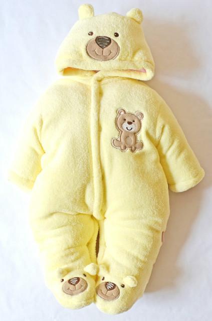 One-Piece Baby Romper Snowsuit Boy Girl Winter Down Snow Casaco Kids Clothes Newborn Coat Children Clothing Parkas Costume