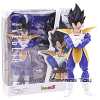 S.H.Figuarts SHF Dragon Ball Z Vegeta Detector 2.0 PVC Action Figure Toy Movable Collection Model Figurine