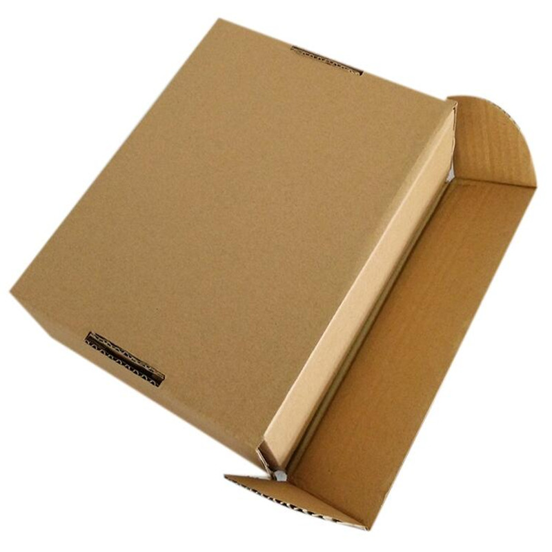 Image 5 - Retail 23*16*6cm 10pcs/lot Brown Paper Kraft Box Post Craft Pack Boxes Packaging Storage Kraft Paper Boxes Mailing Box PP774-in Gift Bags & Wrapping Supplies from Home & Garden