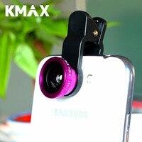 Kmax мобильный телефон эффекты линзы Универсальный зажим 3 в 1 комплект макро широкоугольные Fisheye автоспуска широкий широкоугольный объектив ...