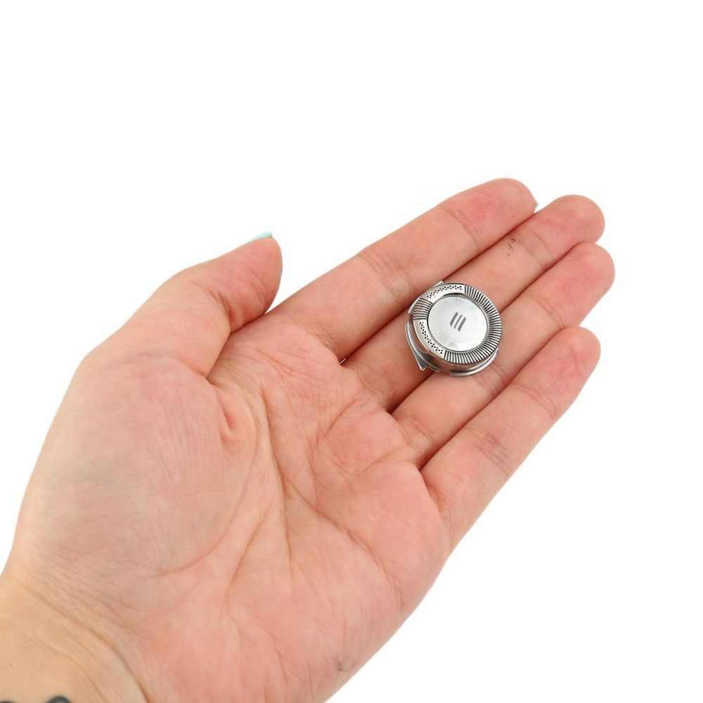 3 adet/takım profesyonel yedek tıraş makinesi kafa bıçakları kesiciler için uygun Philips Norelco elektrikli jilet HQ8 gümüş