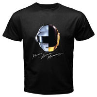 DAFT PUNK Random Access Memories Electro Men S White Black T Shirt Size S To 2XL