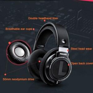 Image 4 - Philips auriculares SHP9500 originales HIFI con cable de 3m de largo, auriculares con reducción de ruido para huawei, xiaomi S8, S9, MP3