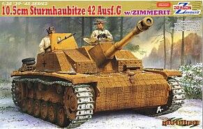 التنين نموذج 6454 1/35 مقياس 10.5 سنتيمتر sturmhaubitze 42 ausf. g ث/zimmerit-في مجموعات البناء النموذجي من الألعاب والهوايات على  مجموعة 1